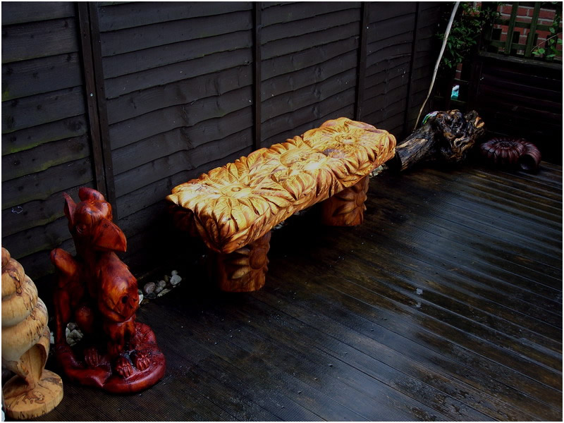 picture of bench carving