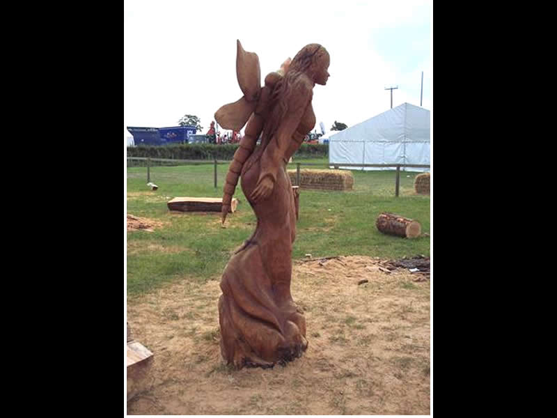 picture of fairy carving