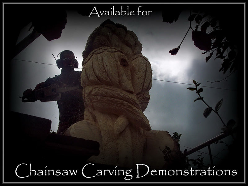Tommy craggs tree sculpting chainsaw carving