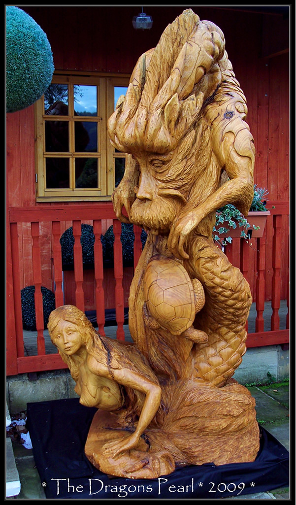 Tommy craggs tree sculpting chainsaw carving services