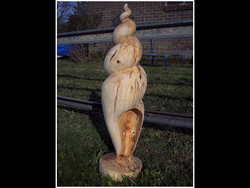 picture of shell carving